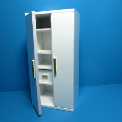 Dollhouse Miniature Kitchen Side by Side Refrigerator Freezer ~ T5268
