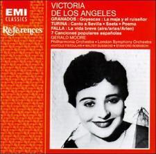 De Los Angeles, Victoria Falla/granados/turina by Victoria De Los Angeles CD