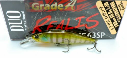 Duo Realis Rozante 63sp Suspending Lure Color CCC3158 Ghost Gill