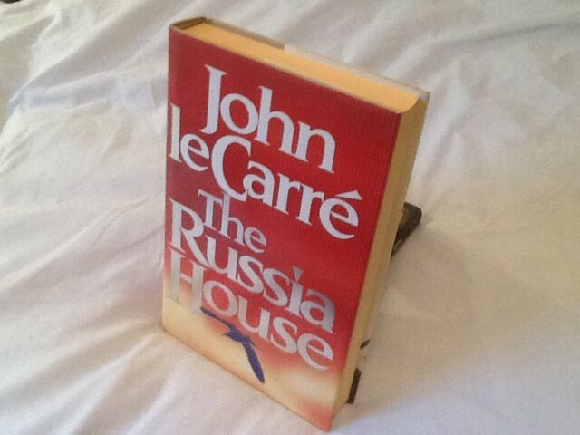 JOHN LE CARRE - THE RUSSIA HOUSE, 1ST UK H/B IN D/W, FINE.