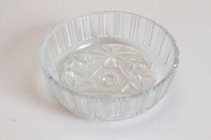 original-antike-Schale-Kristall-geschliffen-massiv-schwer-antik-edel-Schuessel