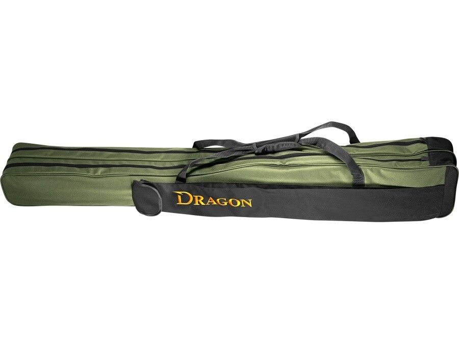 Dragon 2-compartment rod case   1.30m - 1.65m   up to 4 rods with reels
