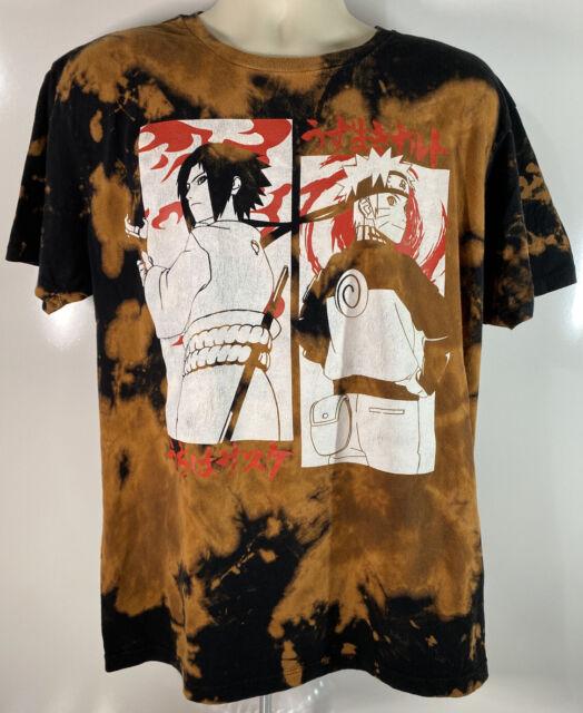 Naruto Anime T Shirt Manga Graphic Vintage Shonen Jump Shippuden 2002-2007 E3