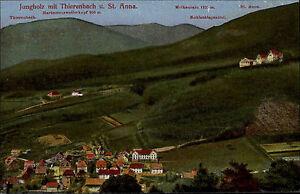 Jungholz-Jungholtz-Elsass-bunte-AK-1910-mit-Thierenbach-und-St-Anna-Panorama