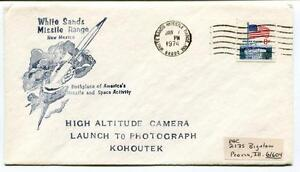 1974 White Sands Missile Range New Mexico America's Missile High Altitude Usa