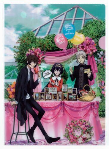 "Kyouka and Atsushi/"" Official Novelty A4 File Folder Bungo Stray Dogs /""Dazai"