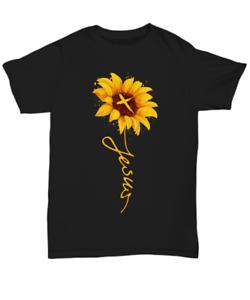 Jesus-Christ-Cross-Sunflower-T-Shirt-Gift-For-Christian-Women-Tee-Faith-In-God