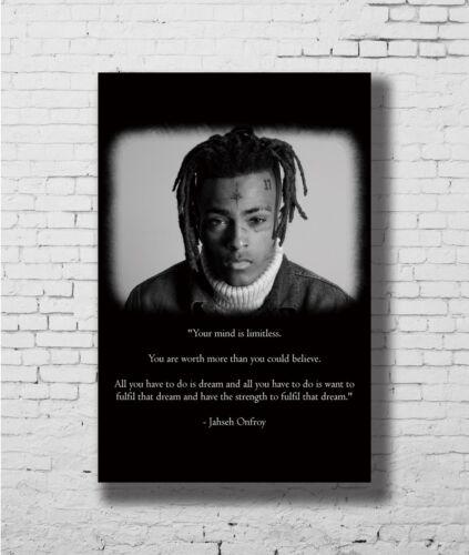 24x36 14x21 40 Poster XXXTentacion Rap Hip Hop Music Star Art Hot P-3956