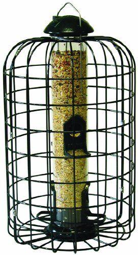 Stokes Squirrel Proof Bird Feeder w 4Feeding Ports,9.3 ,1LB Seed Capacity