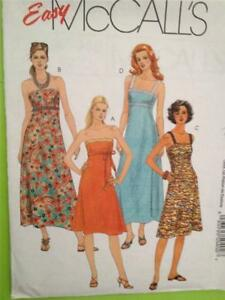 McCalls-Sewing-Pattern-5040-Ladies-Misses-Dress-Two-Lengths-Size-14-20-Uncut