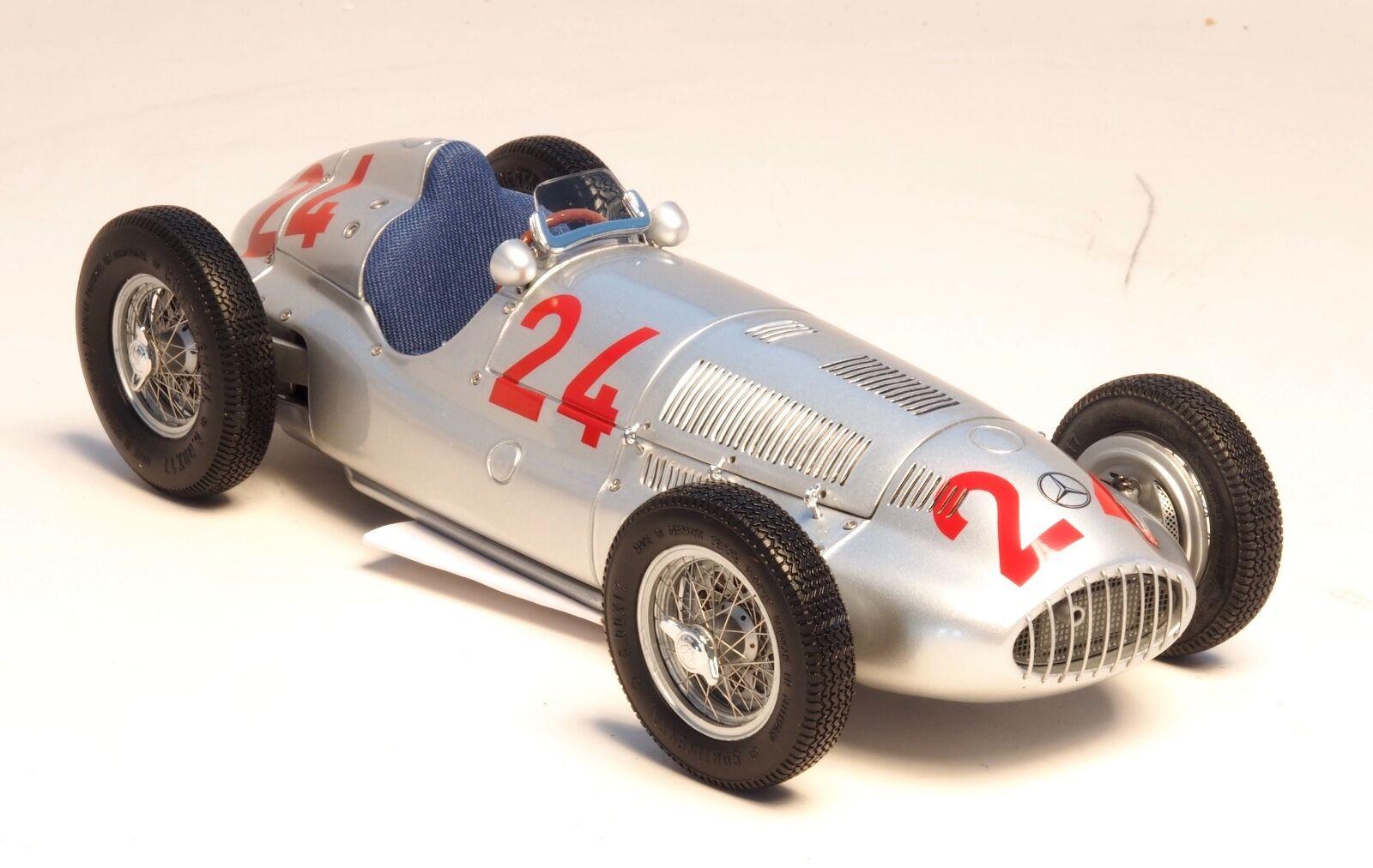 1939 Mercedes-Benz W165 Rudolf Caracciola  24 Tripoli Gran Premio Cmc M-074 1:18