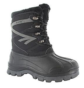 Men-039-s-Hi-Tech-Avalanche-Winter-Boot-Black-Grey