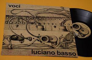 LUCIANO-BASSO-LP-VOCI-ITALY-PROG-REISSUE-NM-UNPLAYED-MAI-SUONATO