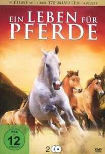Red Fury-delle tracce bianche Stallone-il ranch dei cavalli-CAVALLI [2 DVD's/Nuovo/Scatola Originale]