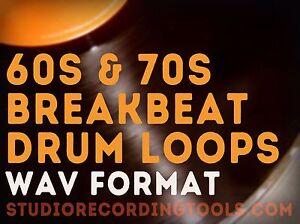 60s & 70s Breakbeat Drum Loop Hip Hop Funk Break Wav SOUL