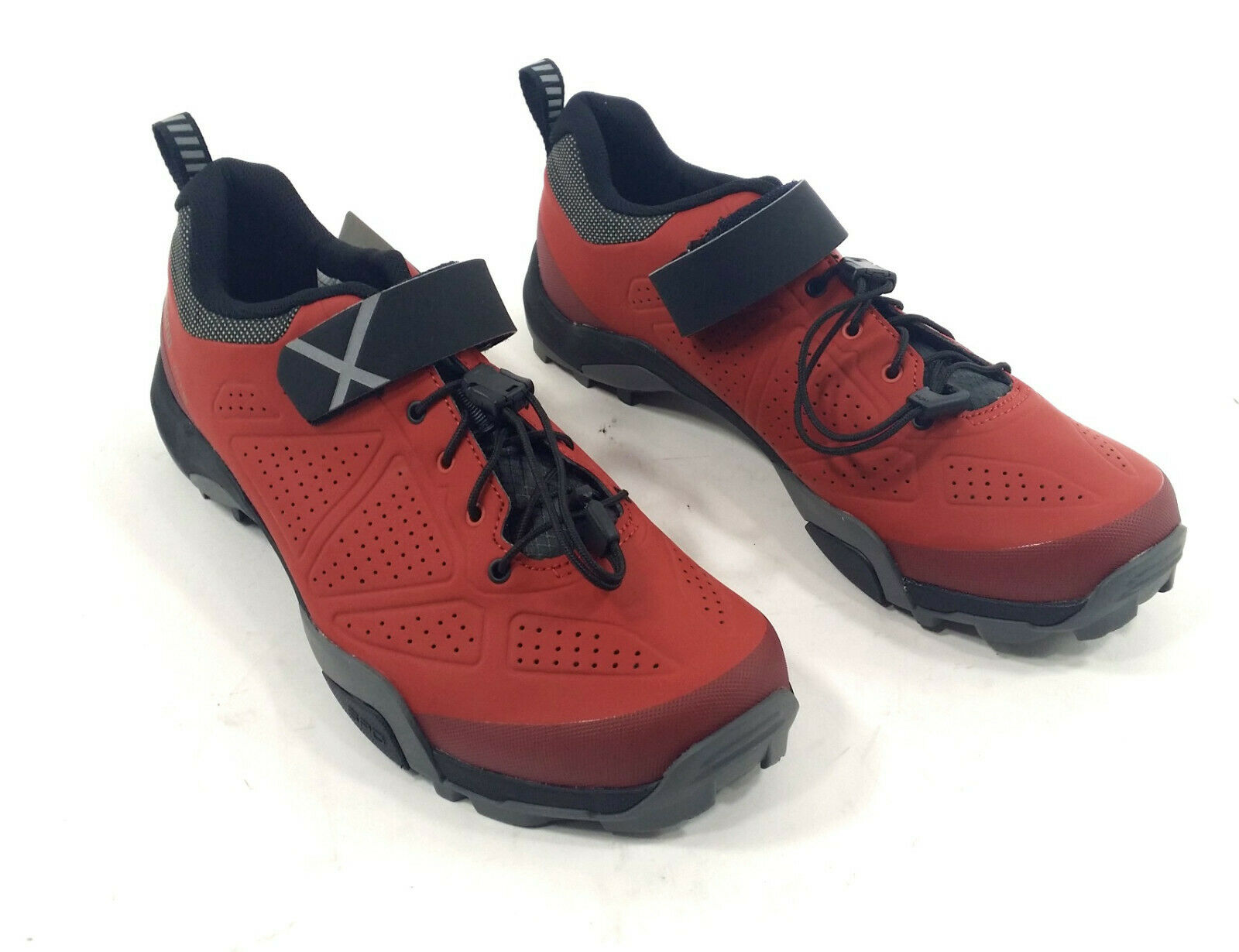 Shimano SH-MT5 Mountain Bike shoes, Red - Men's 8.9 ()