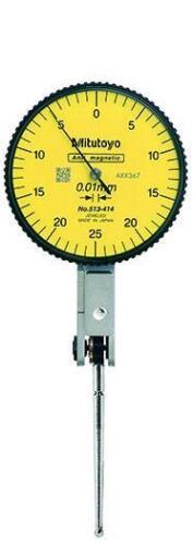 0.05mm Range Mitutoyo 513-414-10E Quick-Set Dial Test Indicator 0.01mm