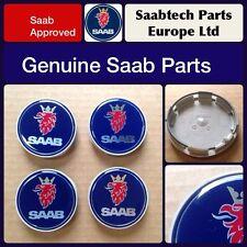 Saab 9-3 9-5 900 9000 alloy wheel cap x 4 12775052