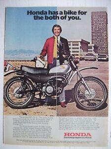 1975-HONDA-MT-250-K1-MOTORCYCLE-USA-MAGAZINE-FULLPAGE-COLOUR-ADVERTISEMENT