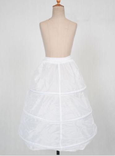 6 Style White A Line//Hoopless//Flower Girl wedding Crinoline Petticoat//Underskirt