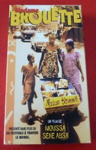 Rare-VHS-French-Movie-Madame-Brouette-Christal-Films
