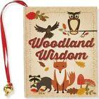 Woodland Wisdom (mini Book) by Barbara Paulding Hardcover