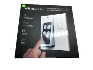 Wink-Relay-Smart-Home-Wall-Controller-Touchscreen-White