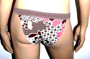 Freya Slip Bikini 1 P. Taille Xs/fr36/eu34 Couleur Imprime Marron, Rose 'burst'