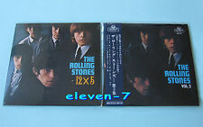 ROLLING STONES 12 x 5 JAPAN mini LP CD SHM +BONUS Sleeve