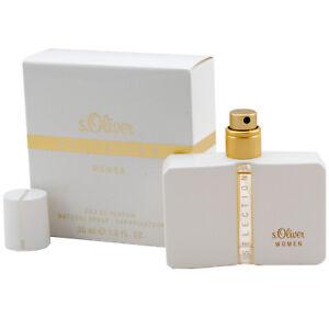 S.Oliver Sélection Femmes Eau de Parfum Edp Spray 30 ML Pour Femme