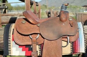 Cactus Team Roping Saddle