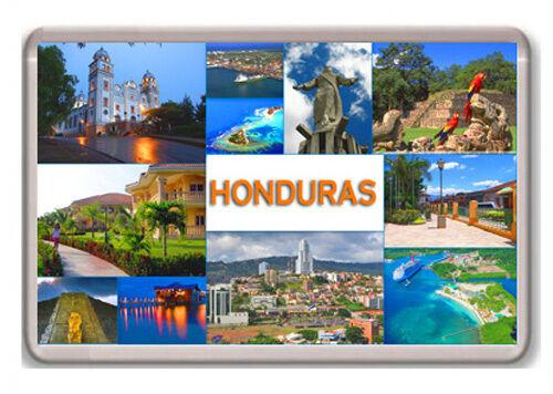 HONDURAS ICONIC SIGHTS FRIDGE MAGNET SOUVENIR IMAN NEVERA