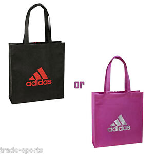 adidas-UNISEX-MENS-WOMENS-TOTE-BAG-BLACK-PINK-SHOPPER-36-x-11-x-38-CM-NEW-ECO