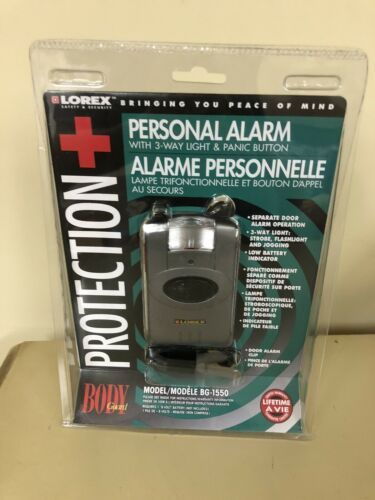 Lorex BODY GUARD Protection Personal Alarm and 3-Way Light /& Panic Button