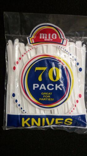 BIG LOT Plastic Knives White 2520//Carton