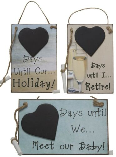 birthday retirement baby holiday countdown sign board with chalk ebay