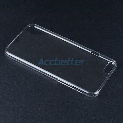 """4.7"""" 0.3mm Thin Transparent Crystal Clear Hard Plastic Case Cover for iPhone 6"""