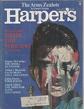 JUNE 1977 HARPERS magazine INSIDE THE VOLCANO