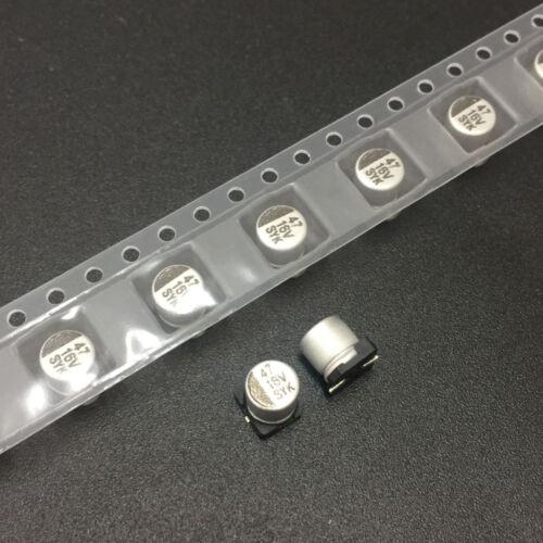 20pcs 16V 47uF 16V SANYANKE SYK 5x5.4mm SMD Chip Electrolytic Capacitor
