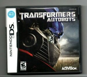 Transformers: Autobots (Nintendo DS, 2007) Complete with Manual, Tested Works