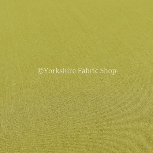 New Smooth Thin Meadow Green Flat Chenille Herringbone Upholstery Fabrics