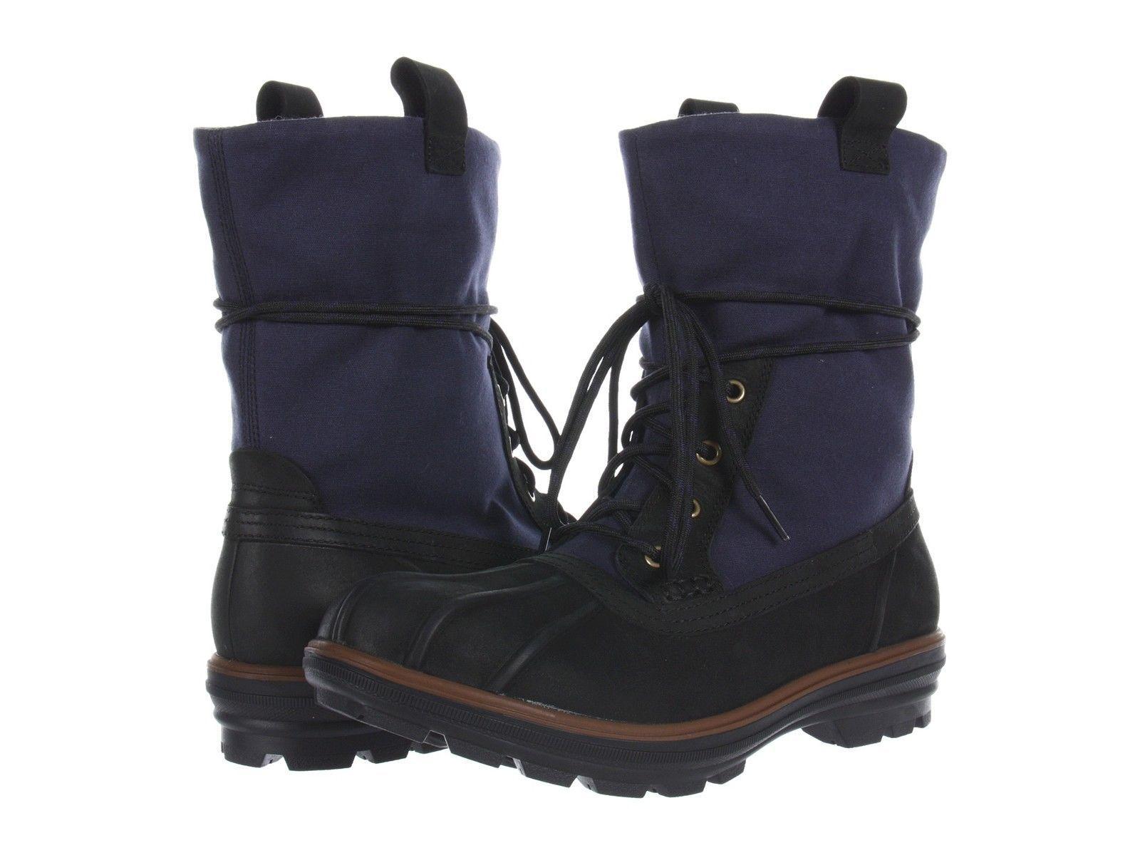 Cole Haan AIR SCOUT imperméable Randonnée Chaussure D'hiver Homme 10 Marine Noir Neuf Dans Boîte