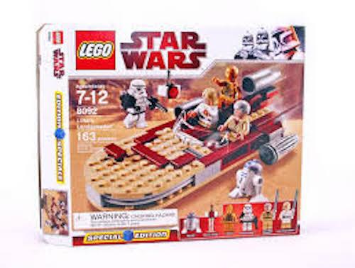 Lego Star Wars Luke's Landspeeder (8092) totalmente Nuevo En Caja