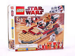 LEGO-Star-Wars-LUKE-039-S-LANDSPEEDER-8092-Brand-New-In-Box