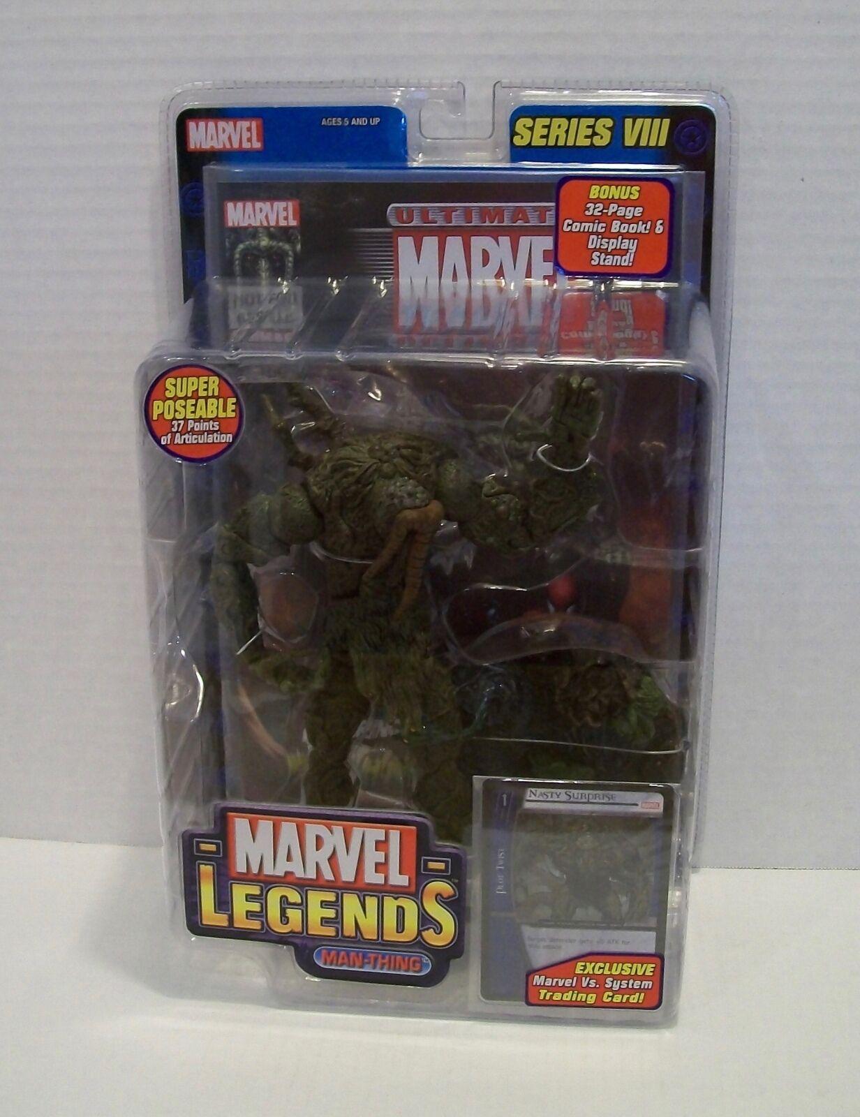 Marvel Legends MAN-THING Series 8 VIII Action Figure