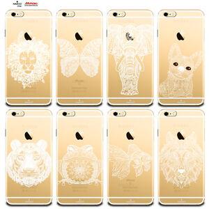 Custodia-Cover-Design-Animali-Per-Apple-iPhone-4-4s-5-5s-5c-6-6s-7-Plus-SE