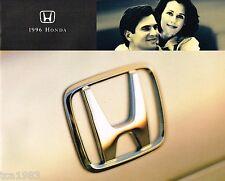 1996 HONDA Brochure/Catalog: DEL SOL,CIVIC,ACCORD,PRELUDE,PASSPORT,Wagon,ODYSSEY