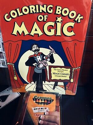 Large Magic Coloring Book Trick With Vanishing Crayons For All Skill Levels Ebay