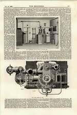 1895 Estación Transformador intermedio Trafalgar Square distribuir