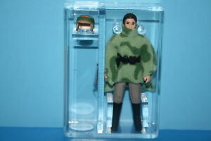 Vintage Star Wars Afa Gradé Leia Endor 80 Nm 84 figurines No Coo Arme Kenner Cv